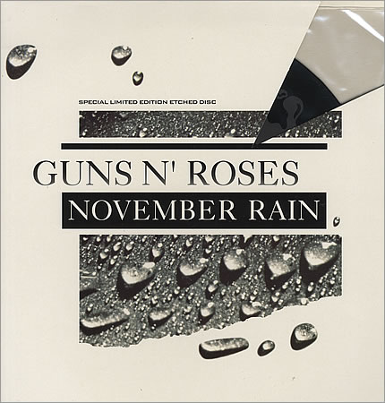 "Guns+N+Roses+-+November+Rain+-+Etched+-+12""+RECORD_MAXI+SINGLE-17345"