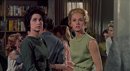 The Birds Alfred Hitchcock Tippi Hedren Suzanne Pleshette pic 1